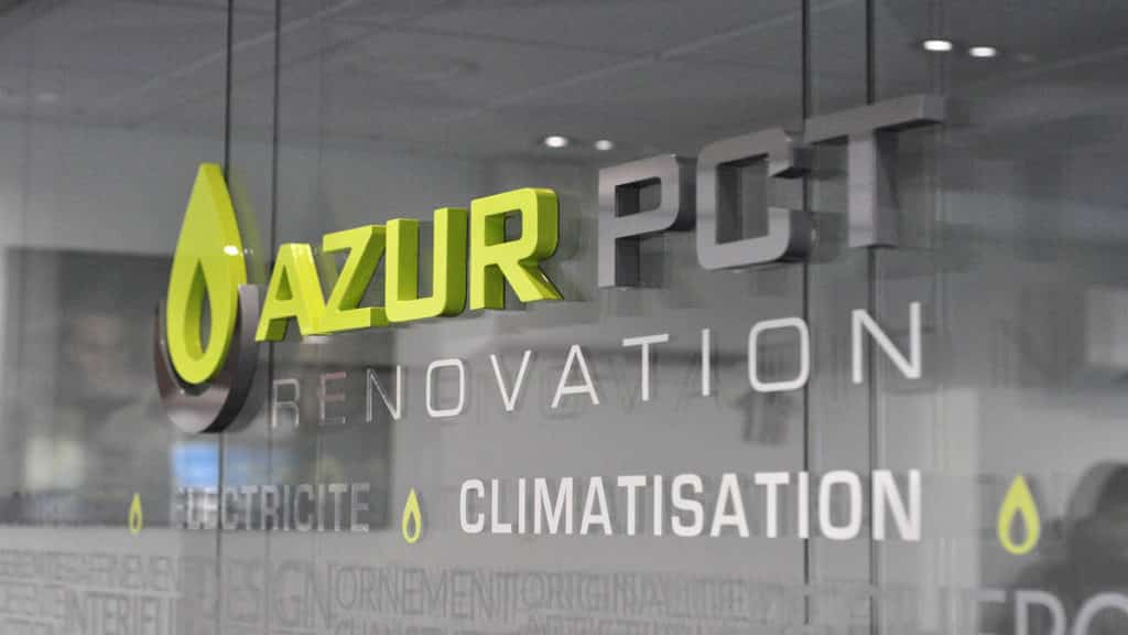 Azur PCT - Enseigne