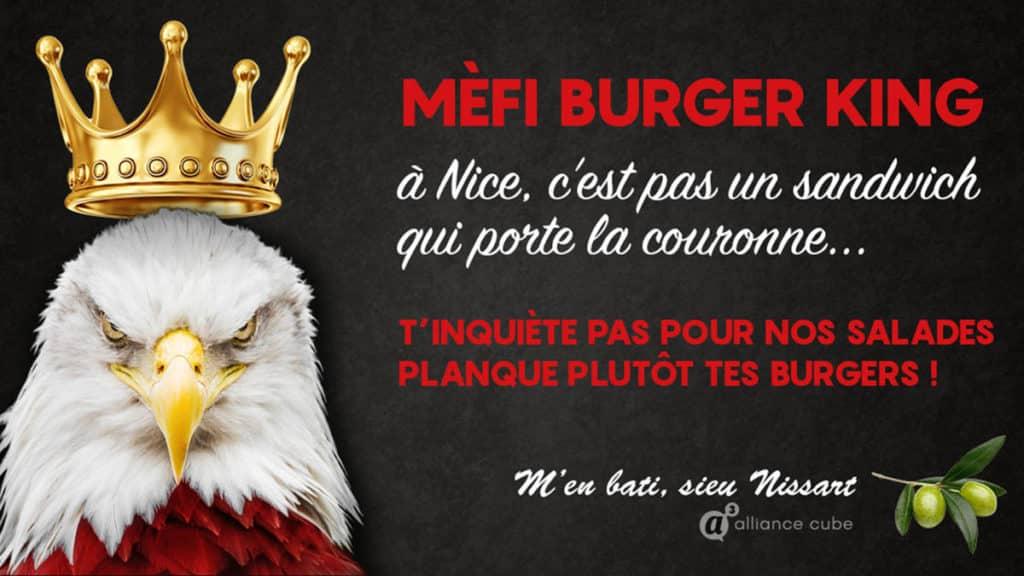 Burger King - Campagne réponse
