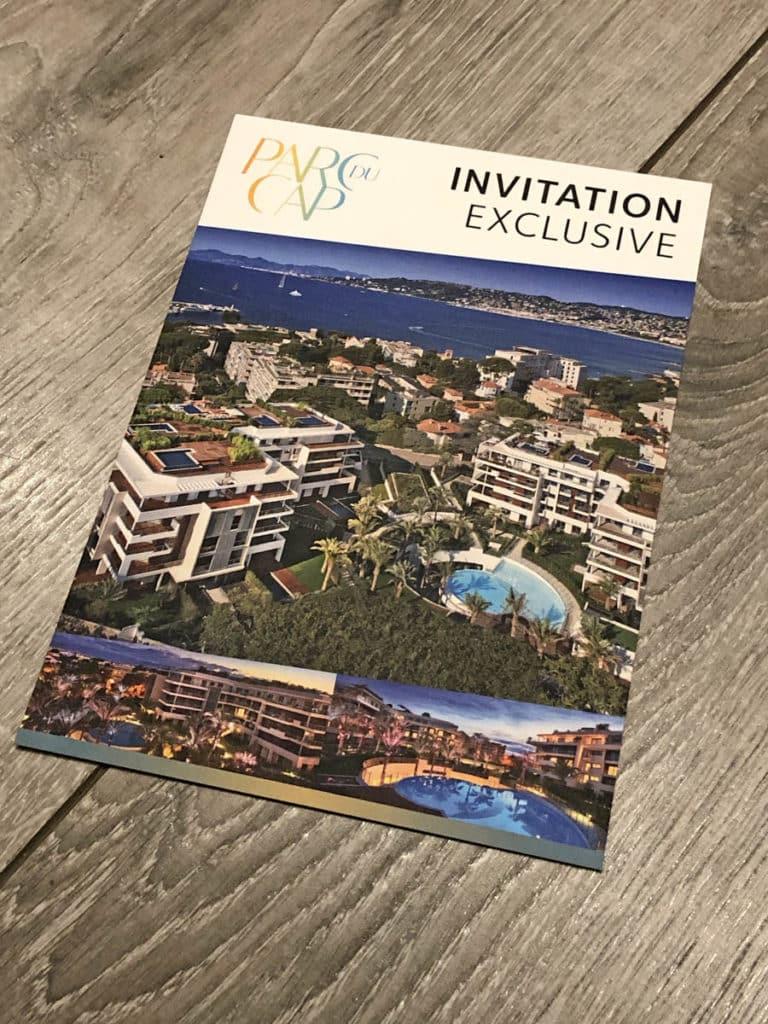 Parc du Cap - Invitations