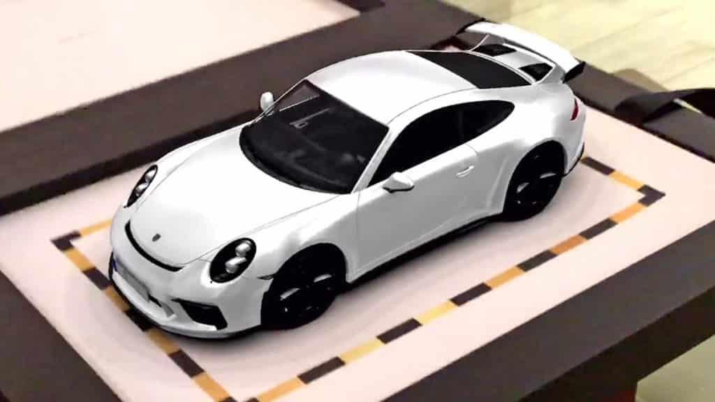 Porsche - Réalité augmentée