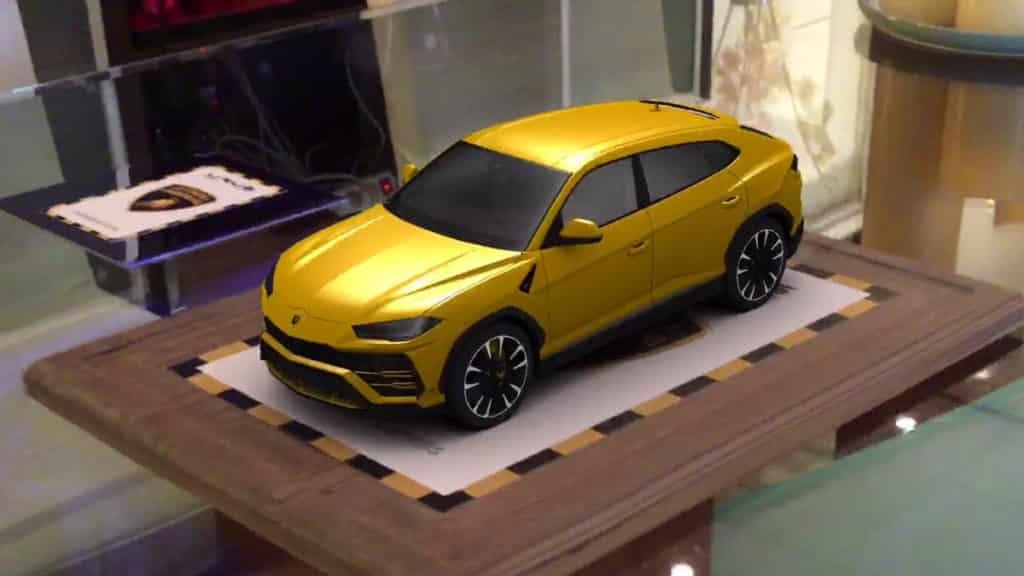 Lamborghini Urus - Réalité augmentée