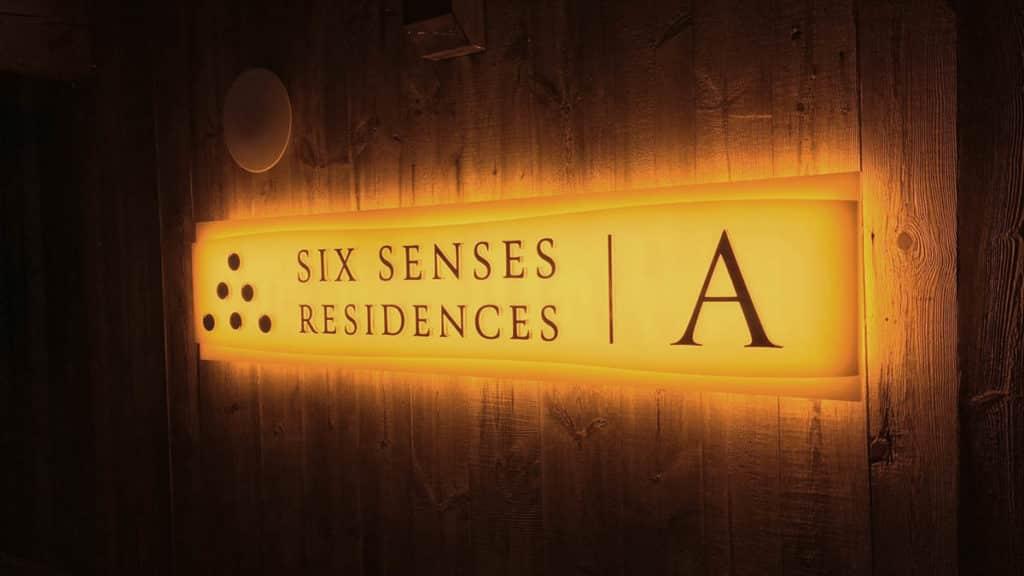 Six Senses - Signalétique